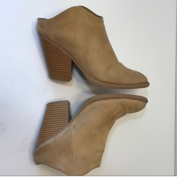 6081a6b9c722 DV by Dolce Vita Shoes - DV for Target Dolce Vita tan suede ankle booties 6